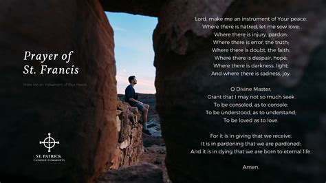 st francis prayer wallpaper www imgkid com the image