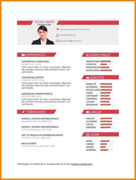 Cv In Commercial 4 Exemple De Cv Commercial Lettre Officielle