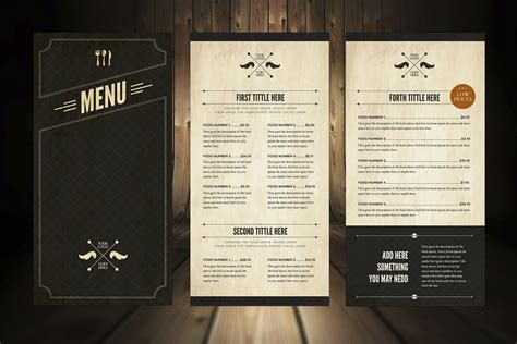 effective menu design and layout for restaurants food menu design food