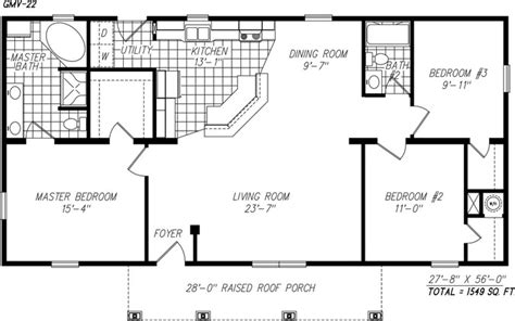 one story open floor plans the ashwood modular home one of our most popular modular
