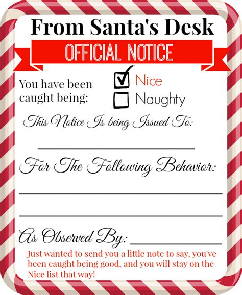 elf on the shelf warning letter from santa printable free printable elf on the shelf notes