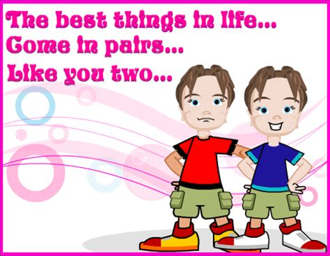 53 fabulous birthday wishes for twins greetings and