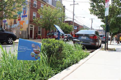 green city clean waters green street program philadelphia national association  city