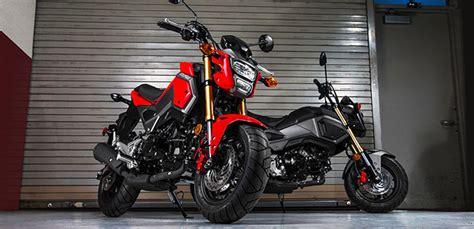 Honda Motorrad Grom by 2018 Honda Grom Urban Sports Motorcycle Review Bikes Catalog