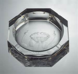 imperial 560 e 7000 po hand engraved ashtray 187 moser