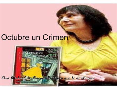 imagenes del libro octubre un crimen octubre un crimen booktrailer de exequiel diaz