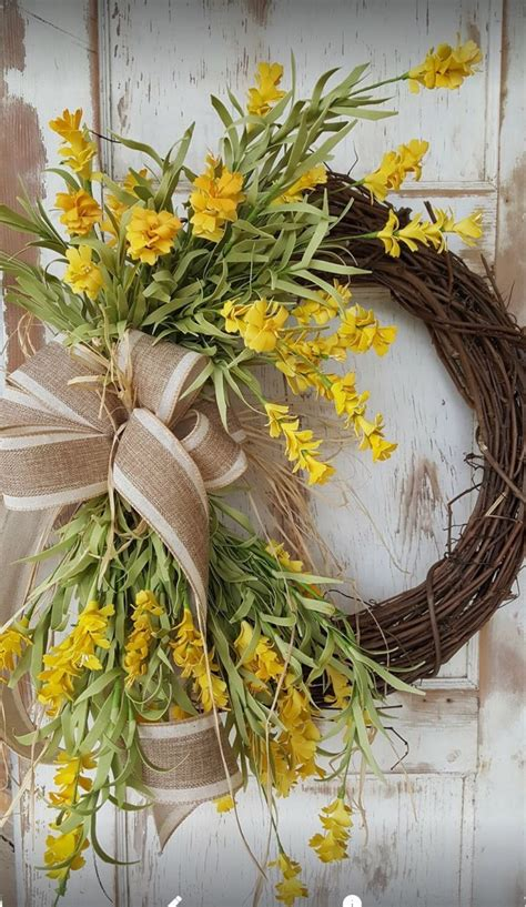summer wreath summer decor summer door everyday wreath bee 25 best ideas about front door wreaths on pinterest