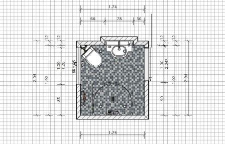 Kleines Bad 4 Qm Grundriss by Badplaner Fotorealistischer Badezimmerplaner Fliesen Fieber