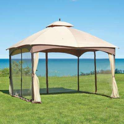 accessori gazebo patio gazebos patio accessories the home depot