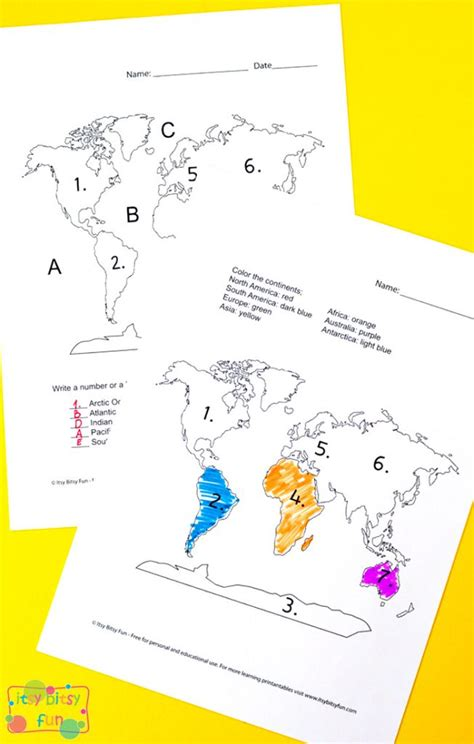 printable word search continents oceans continents and oceans worksheets free word search quiz