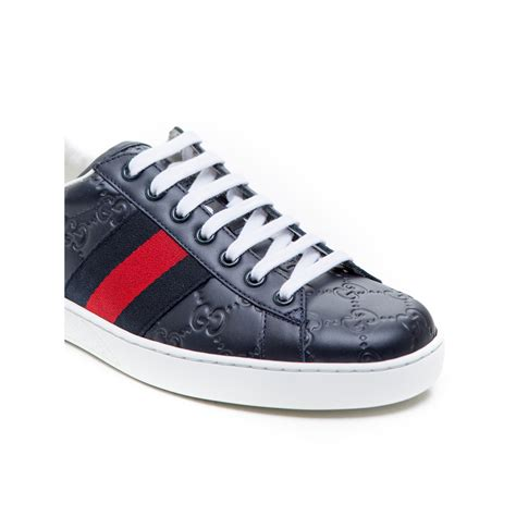 gucci sport shoes blue derodeloper