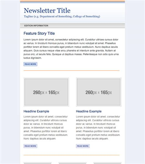 Caign Monitor Newsletter Templates 187 Web Services 187 Uf Academic Health Center 187 University Of Clinical Trial Newsletter Template