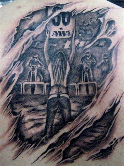 tattoo 3d moto motocross tattoo in 3d tattooimages biz