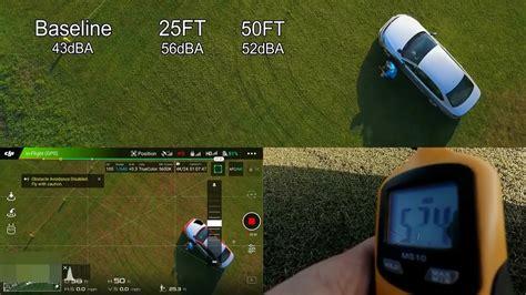 loud  drones sound level metering testing