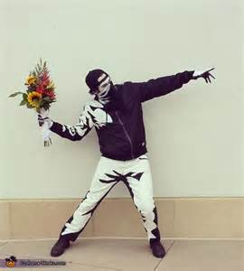 banksys flower thrower halloween costume