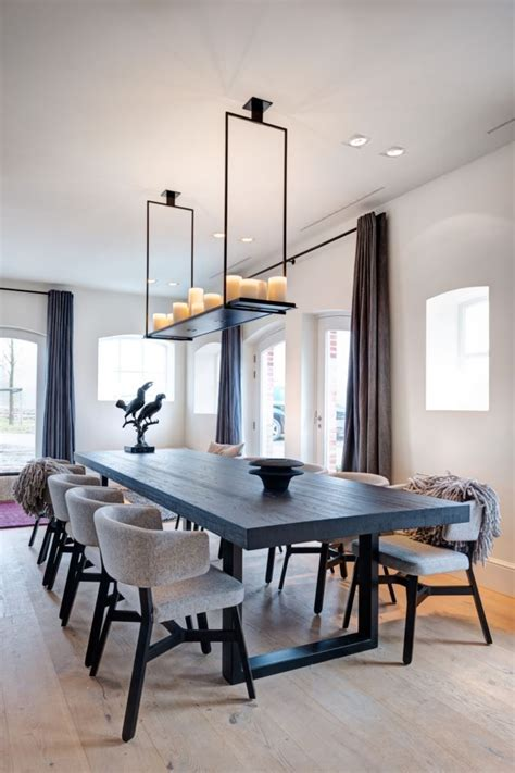 dining room contemporary 25 best ideas about modern dining table on pinterest
