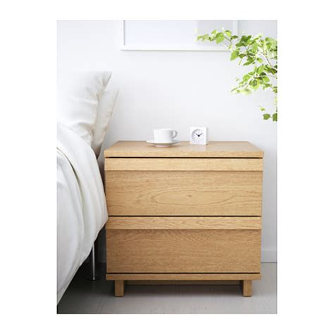 ikea oppland dresser oppland chest of 2 drawers oak veneer 60x57 cm ikea