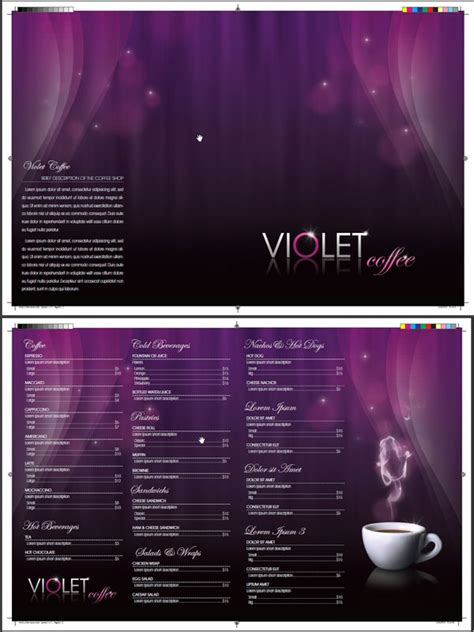 design menu photoshop design a coffee shop menu layout from scratch part 2