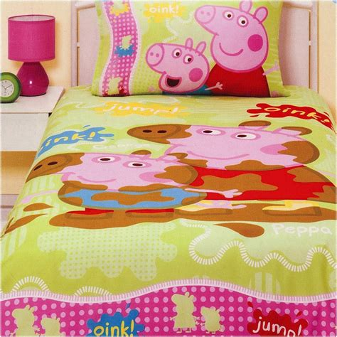 pig bedding peppa pig and george bedding set http www