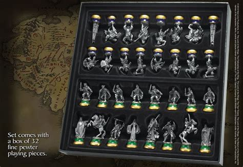 Of Thrones Dvd 2990 by The Lord Of The Rings Chess Set At Noblecollection