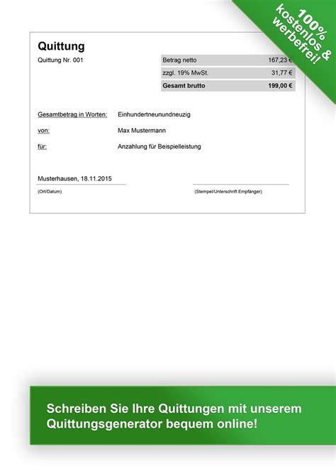 Microsoft Word Vorlage Quittung Quittungsvorlage Kostenlos Herunterladen Vorlage Quittung