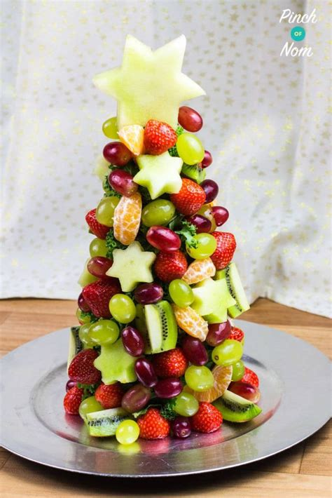 syn free fruit christmas tree slimming world pinch of nom