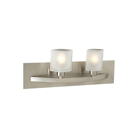 Halogen Bathroom Lighting Illumine Contemporary 2 Light Satin Nickel Halogen Bath Vanity Light Cli Hd642sn The