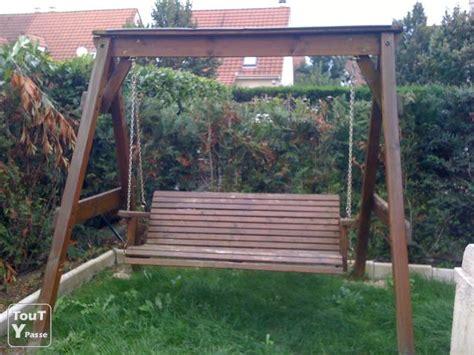 Balancoire Adulte Bois by Balan 231 Oire En Bois Lagny Sur Marne 77400
