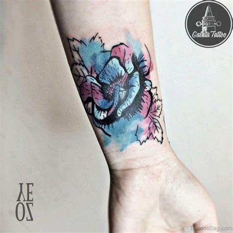 colored tattoos 52 wrist colorful designs