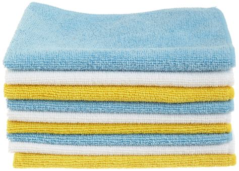 amazonbasics microfiber cleaning cloth 24