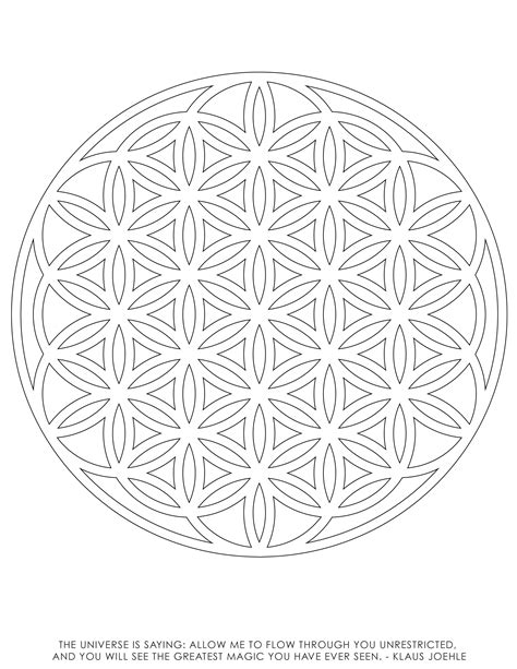 sacred geometry coloring book sacred geometry coloring pages many interesting cliparts
