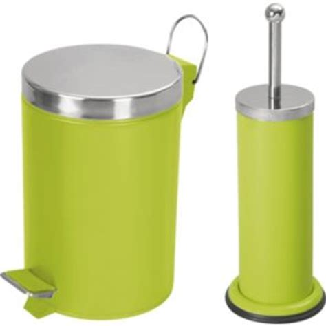 bathroom bin argos colourmatch bathroom bin and toilet brush set apple