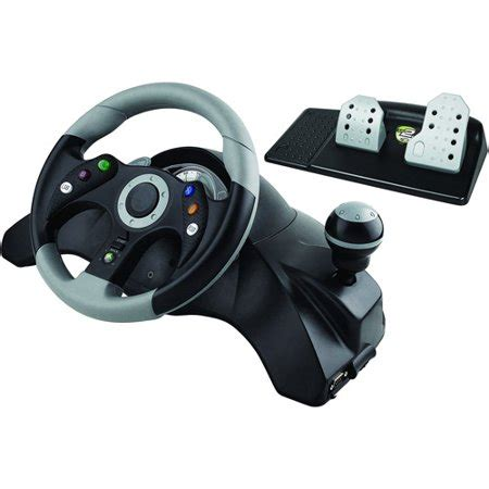 volante wireless xbox 360 catz wired steering wheel walmart