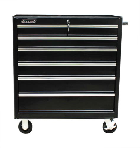 Roller Drawers For Kitchen Cabinets by Excel 36 Quot Roller Cabinet With Seven Drawers