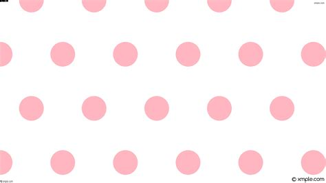 wallpaper white pink dots hexagon polka ffffff ffb6c1