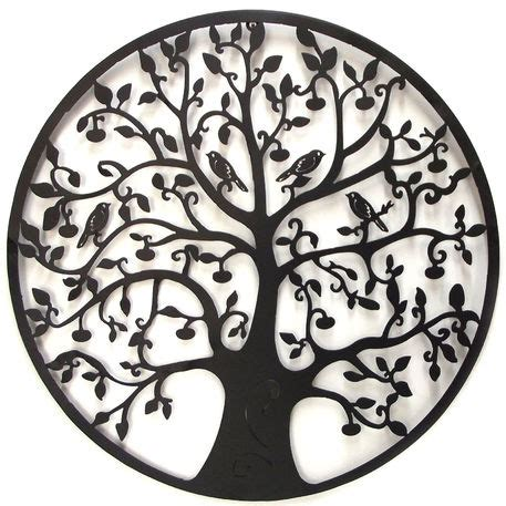 tree of life metal wall art 60cm