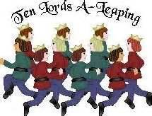 ideas for 10 lords a leaping eleven pipers piping 12 days of pipes