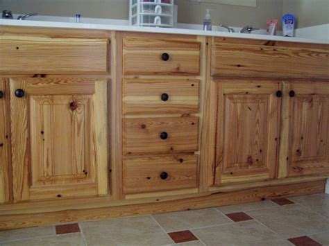 Unfinished Pine Kitchen Cabinets Home Design Pine Cabinets