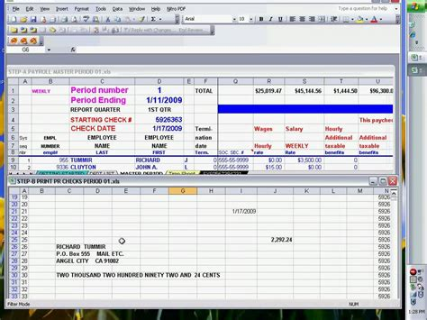 microsoft excel 02 payroll part 2 how to use if formula youtube