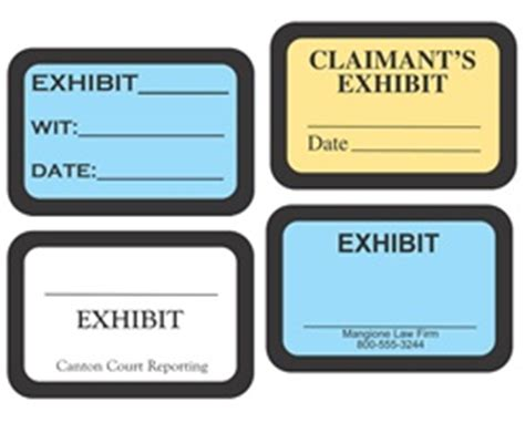 Exhibit Sticker Template Pictures To Pin On Pinterest Pinsdaddy Tabbies Exhibit Labels Template