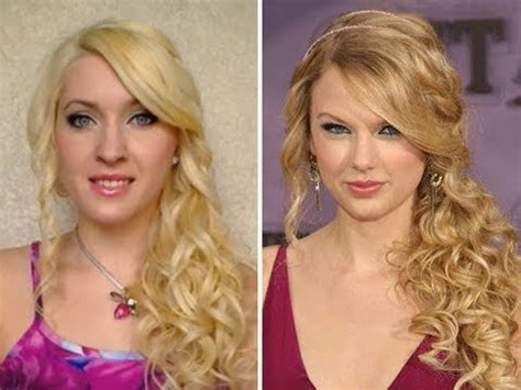 taylor swift prom hairstyles tutorial taylor swift curls with curling iron hair tutorial fryzura