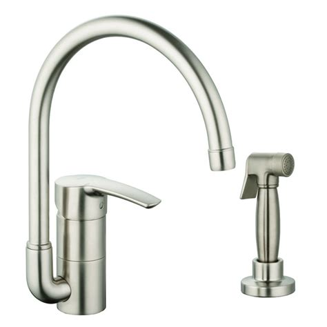 Single Kitchen Faucet Grohe Eurostyle Single Handle Single Standard Kitchen Faucet With Side Spray Reviews