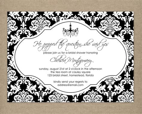 diy printable elegant black and white by thepaperblossomshop