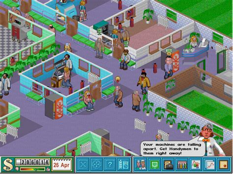 Theme Park Hospital | c 1997 bullfrog productions ltd theme park theme hospital
