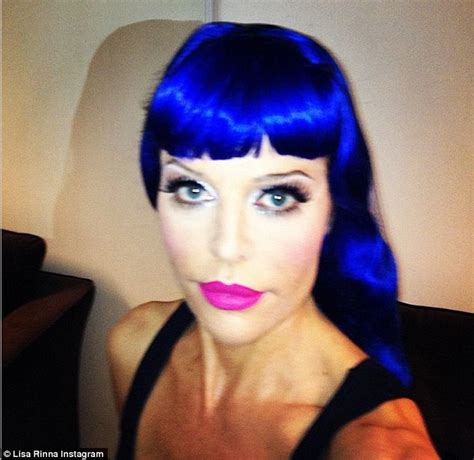 does lisa rinma wear a wig lisa rinna katy perry inspired in new pic dbtechno