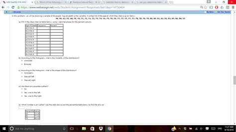 statistics section ii part a questions 1 5 answers va ihm stat302 f16 hw2 x g which of the following