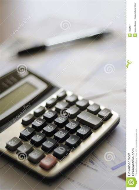 calculator numbers calculator and numbers royalty free stock photography