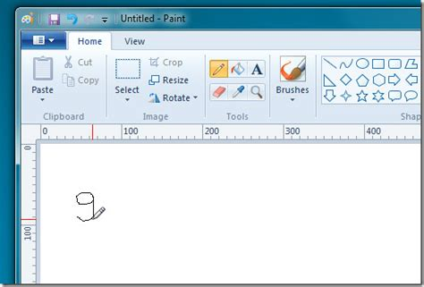 how to create custom brushes in ms paint tip