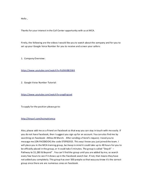 up letter reply mca craigslist ad reply letter 02 18 2015