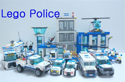 How To Build A Cottage House by Lego Police Car Toys 2014 60041 60049 All Time Lapse